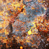 rusty metalowe tło Zdjęcia Stock