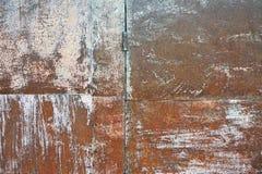 rusty metalowe tło Fotografia Royalty Free