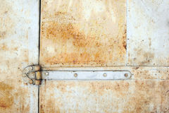 rusty metalowe tło Obrazy Stock