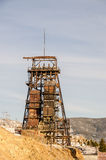 Rusty Mining Headframe Royalty Free Stock Photo