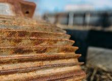 Rusty motor Stock Photo