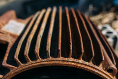 Rusty motor Stock Photography