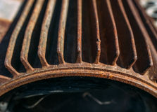 Rusty motor Stock Images