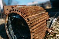 Rusty motor Royalty Free Stock Image