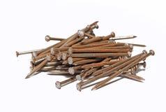Rusty nail Stock Image