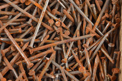 Rusty Nail Imágenes de archivo libres de regalías