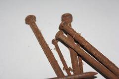 Rusty Nail Royalty-vrije Stock Afbeeldingen