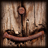 Rusty nail Royalty Free Stock Images