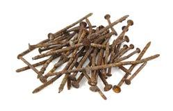 Rusty nails Stock Photos