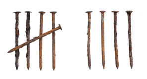 Free Rusty Nails Stock Image - 50763021