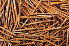 Rusty nails Stock Image