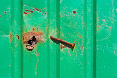 Rusty Nails, Staples, Schrauben Lizenzfreies Stockbild