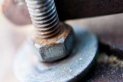 Rusty nut screw. Stock Image