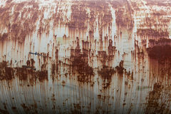 Rusty oil tank Stock Photos