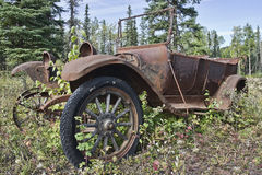 Rusty Old Anitique Car stock photography