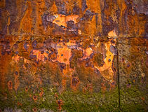 Rusty old background Stock Photography