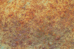 Rusty and old background with empty area for support text. damage or antique surface from industry workshop. corrosion of steel Royalty Free Stock Photography
