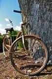 Rusty Old Bike stockfoto