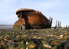 Rusty old boat Royalty Free Stock Images