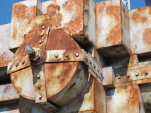 Rusty old boiler Stock Photography