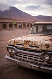 Rusty, old, broken pickup truck Stock Photo