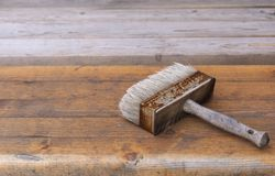 Rusty old brush Royalty Free Stock Images