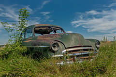 Rusty old car Royalty Free Stock Photos