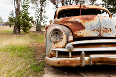 Rusty old car Stock Image