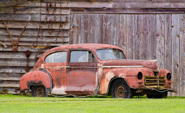 Rusty old car Royalty Free Stock Image