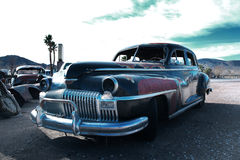 Rusty old car, California. Royalty Free Stock Photography