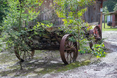 Rusty old cart. Stock Photography