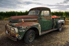 Rusty old classic truck Royalty Free Stock Photo