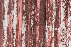 Rusty old corrugated metal background Royalty Free Stock Photos