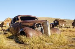 Rusty Old Coupe 3 stock image