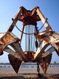 Rusty Old Dredging Equipment Lizenzfreie Stockbilder