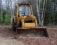 Rusty old excavator Royalty Free Stock Image