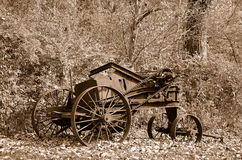 Rusty old farm machinery Royalty Free Stock Photo
