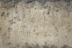 Rusty old-fashioned wall Stock Photography