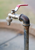 Rusty Old Faucet Royalty Free Stock Images