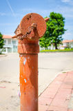 Rusty Old Fire Hydrant Lizenzfreie Stockbilder