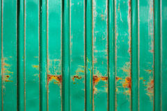 Rusty old green metal texture background. Stock Photography