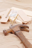 Rusty Old Hammer Royalty Free Stock Images