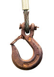 Rusty Old Hook Lizenzfreies Stockfoto
