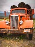Rusty Old Log Truck photo stock