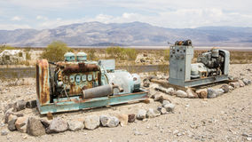 Rusty old machines Royalty Free Stock Images