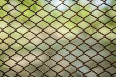 Rusty old mesh, background Royalty Free Stock Photos