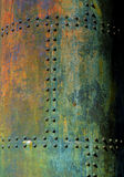 Rusty old metal background Stock Images