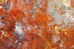 Rusty old metal texture Royalty Free Stock Photos