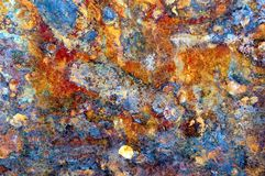 Rusty old metal texture Royalty Free Stock Photography