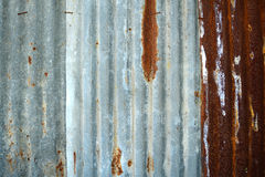 Rusty old metal texture background. Royalty Free Stock Photos